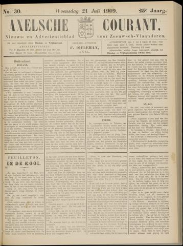 Axelsche Courant 1909-07-21