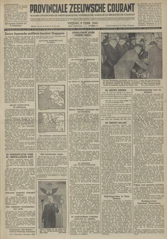 Provinciale Zeeuwse Courant 1942-02-06
