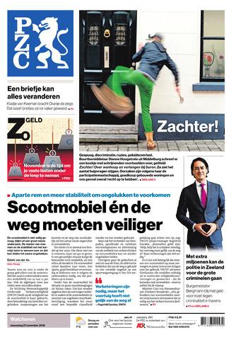 Provinciale Zeeuwse Courant 2018-11-21