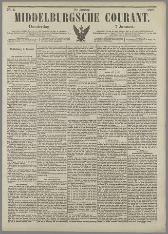 Middelburgsche Courant 1897-01-07