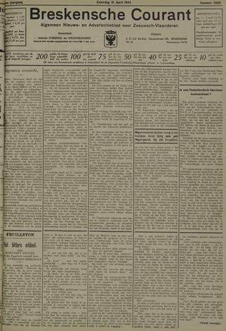 Breskensche Courant 1934-04-21