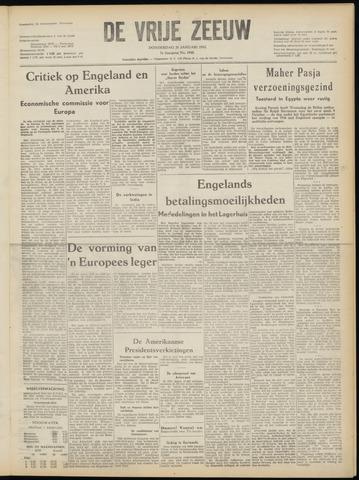 de Vrije Zeeuw 1952-01-31