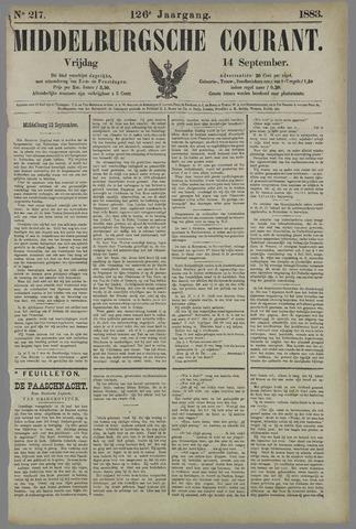 Middelburgsche Courant 1883-09-14