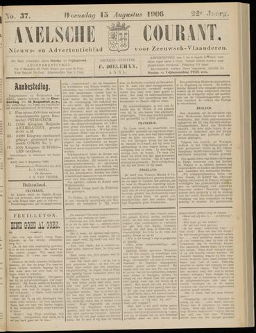 Axelsche Courant 1906-08-15
