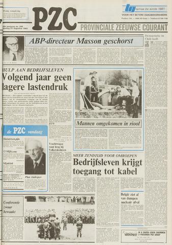 Provinciale Zeeuwse Courant 1983-08-27