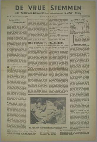 Vrije Stemmen van Schouwen-Duiveland, tevens mededeelingenblad Militair Gezag 1945-12-01
