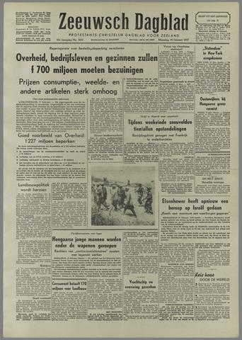 Zeeuwsch Dagblad 1957-02-18