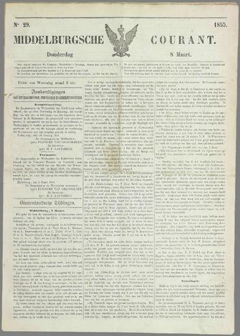 Middelburgsche Courant 1855-03-08
