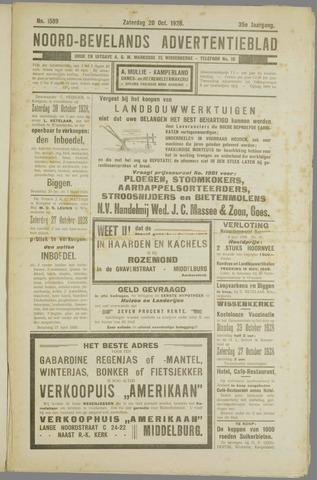 Noord-Bevelands Nieuws- en advertentieblad 1928-10-20