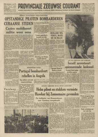 Provinciale Zeeuwse Courant 1961-04-17