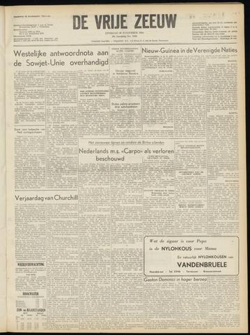 de Vrije Zeeuw 1954-11-30
