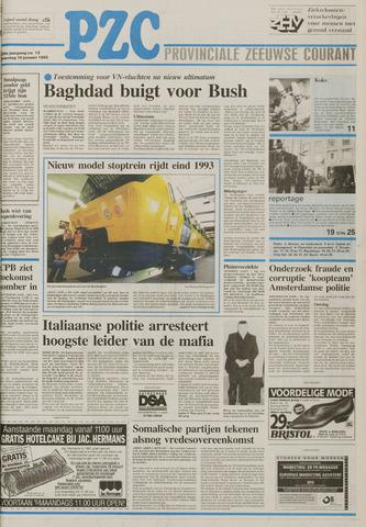 Provinciale Zeeuwse Courant 1993-01-16