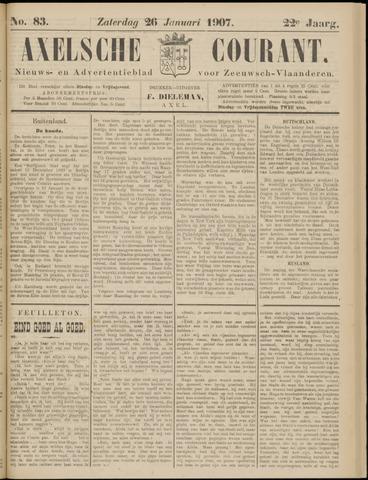 Axelsche Courant 1907-01-26