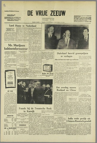 de Vrije Zeeuw 1963-07-17