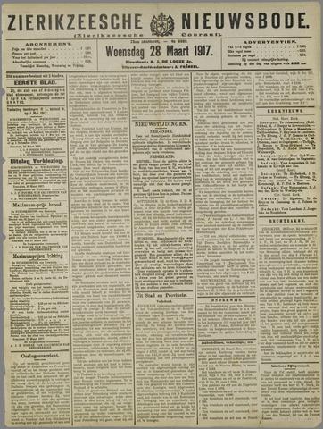Zierikzeesche Nieuwsbode 1917-03-28