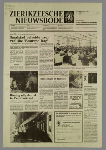 Zierikzeesche Nieuwsbode 1985-07-15