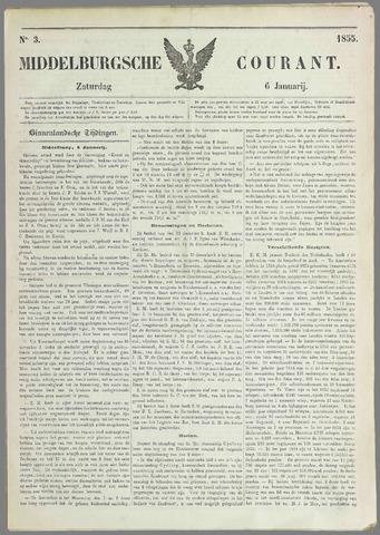 Middelburgsche Courant 1855-01-06