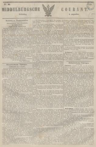 Middelburgsche Courant 1851-08-02