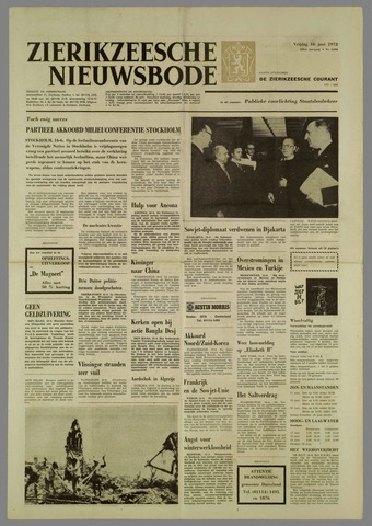Zierikzeesche Nieuwsbode 1972-06-16