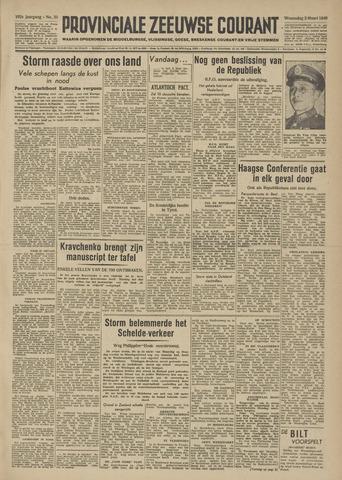 Provinciale Zeeuwse Courant 1949-03-02