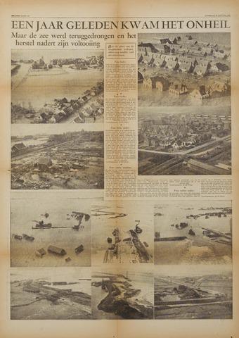 Watersnood documentatie 1953 - kranten 1954-01-30