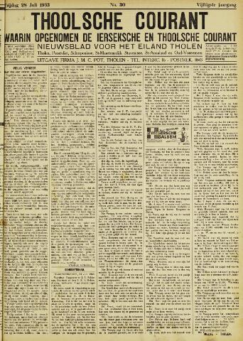 Ierseksche en Thoolsche Courant 1933-07-28