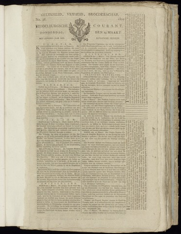 Middelburgsche Courant 1801-03-19
