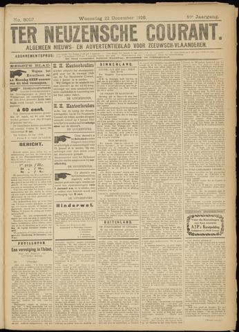 Ter Neuzensche Courant. Algemeen Nieuws- en Advertentieblad voor Zeeuwsch-Vlaanderen / Neuzensche Courant ... (idem) / (Algemeen) nieuws en advertentieblad voor Zeeuwsch-Vlaanderen 1926-12-22