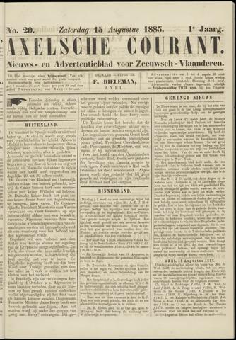 Axelsche Courant 1885-08-15