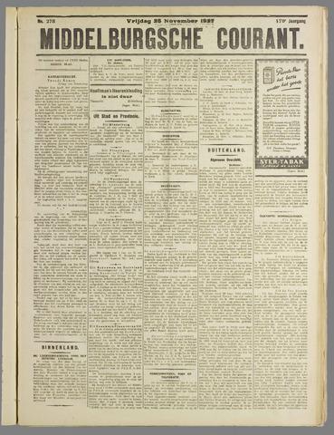 Middelburgsche Courant 1927-11-25