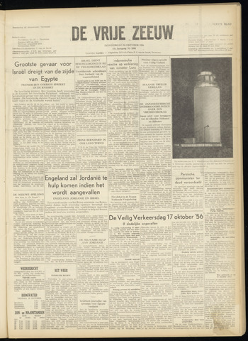 de Vrije Zeeuw 1956-10-18