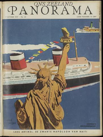 Ons Zeeland / Zeeuwsche editie 1937-10-07