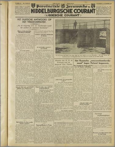 Middelburgsche Courant 1939-11-16