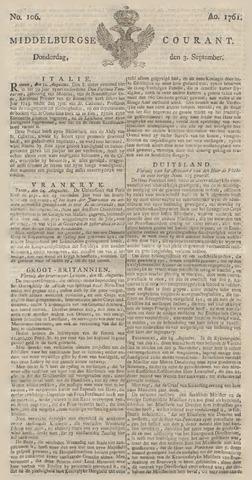 Middelburgsche Courant 1761-09-03