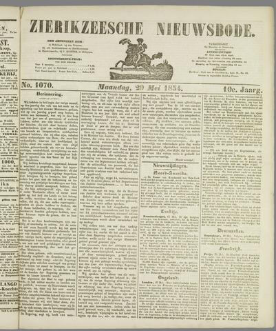 Zierikzeesche Nieuwsbode 1854-05-29
