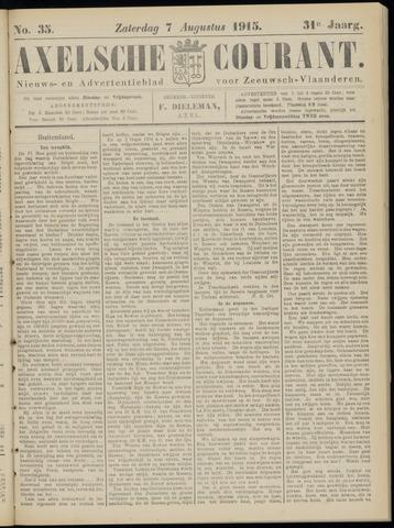 Axelsche Courant 1915-08-07