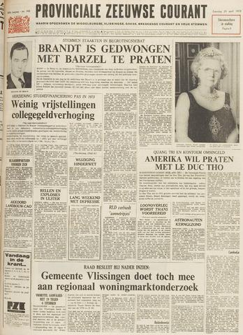 Provinciale Zeeuwse Courant 1972-04-29