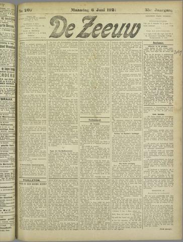 De Zeeuw. Christelijk-historisch nieuwsblad voor Zeeland 1921-06-06