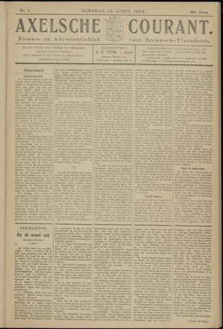 Axelsche Courant 1924-04-15