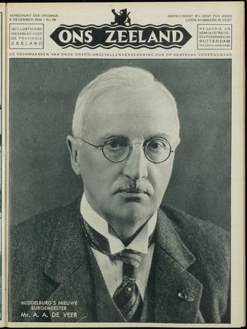 Ons Zeeland / Zeeuwsche editie 1932-12-09