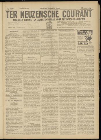 Ter Neuzensche Courant. Algemeen Nieuws- en Advertentieblad voor Zeeuwsch-Vlaanderen / Neuzensche Courant ... (idem) / (Algemeen) nieuws en advertentieblad voor Zeeuwsch-Vlaanderen 1935-03-01