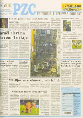 Provinciale Zeeuwse Courant 2003-11-17
