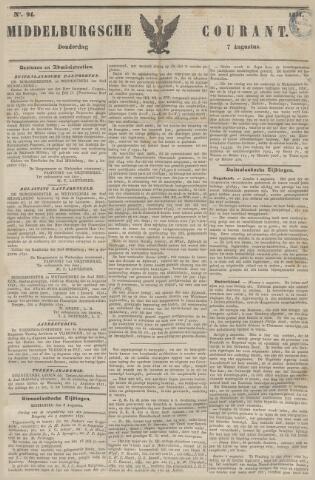Middelburgsche Courant 1851-08-07