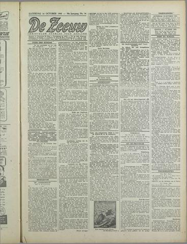 De Zeeuw. Christelijk-historisch nieuwsblad voor Zeeland 1943-10-16