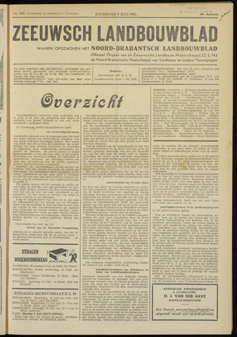 Zeeuwsch landbouwblad ... ZLM land- en tuinbouwblad 1952-07-05