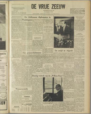 de Vrije Zeeuw 1961-05-25