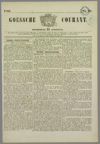 Goessche Courant 1852-08-12