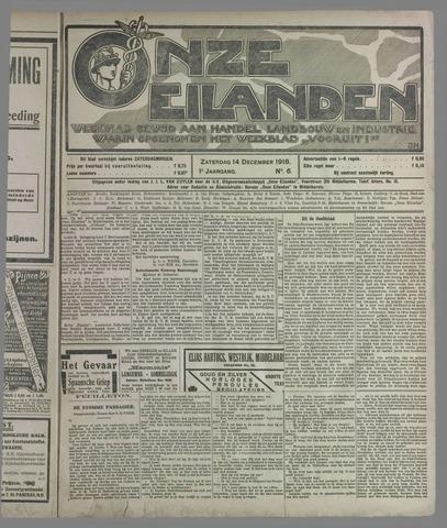 Onze Eilanden 1918-12-14
