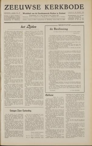 Zeeuwsche kerkbode, weekblad gewijd aan de belangen der gereformeerde kerken/ Zeeuwsch kerkblad 1958-03-28