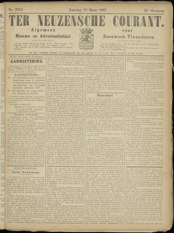 Ter Neuzensche Courant. Algemeen Nieuws- en Advertentieblad voor Zeeuwsch-Vlaanderen / Neuzensche Courant ... (idem) / (Algemeen) nieuws en advertentieblad voor Zeeuwsch-Vlaanderen 1887-03-19
